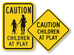 Caution Children Signs