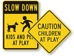 Child at Play Signs