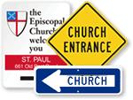 Church Road Signs