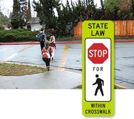 Crosswalk Signs