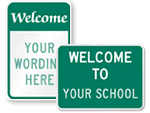 Custom Welcome Signs