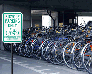 Bicycle Parking Signs