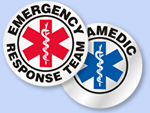EMT Helmet Decals