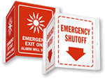 Emergency 3D Signs