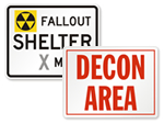Fallout Shelter Signs