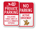 Friendlier Parking Signs