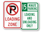Loading & Unloading Signs