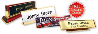 Quotation for Nameplates