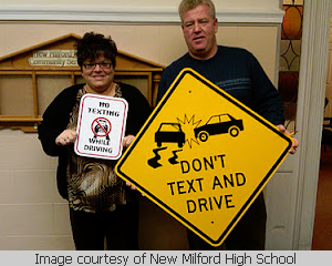 No Texting and Driving School Giveaway
