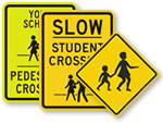Popular Children Crossing Signs