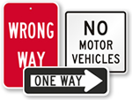 Parking Directional Signs