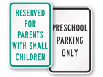 Preschool Traffic Signs