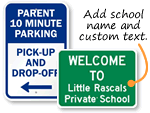 Custom School Signs