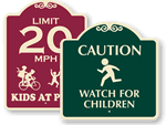 SignatureSigns™ Children at Play