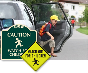 Watch for Children Signs