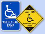 Wheelchair Accessibility Signs