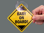 Baby on Board Tags & Decals