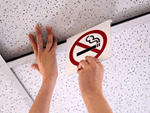 Convenient Ceiling Signs