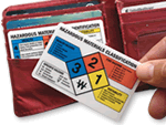 HazMat Wallet Cards