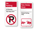 Tow Away iParking Signs