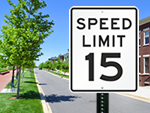 Official Speed Limit Signs