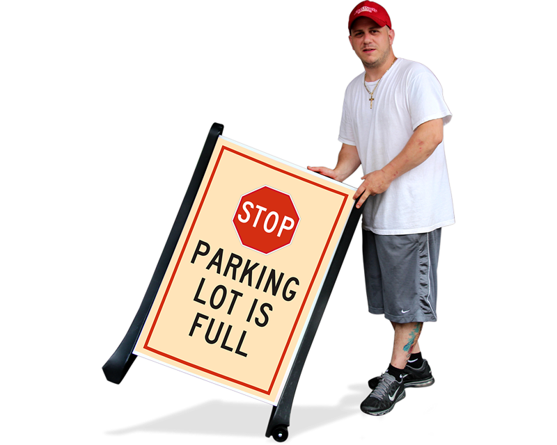 Parking Lot Full Signs