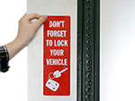 Parking Lot Sign Decals