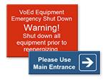 Custom Plastic Engraved Signs