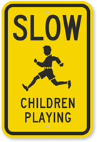 Children playing sign - updated