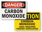 Carbon Monoxide Signs