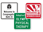 Square Signs