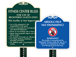 Designer Facility Signs