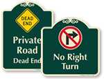 Designer Traffic Signs