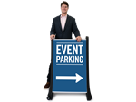 More Event Parking Signs
