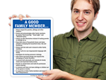How to be a Good Family Member