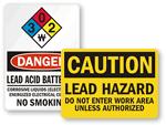 Lead Hazard Signs