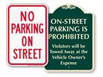 No Street Parking