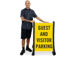 Portable Guest Parking Signs