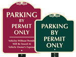 Parking Permit Sign