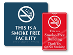 Smoke Free Signs & Labels