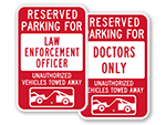 Tow-Away Signs - By Title