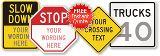 Custom Metal Signs Quote