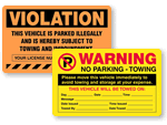 Violation Stickers