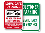 Custom Visitor Parking Signs