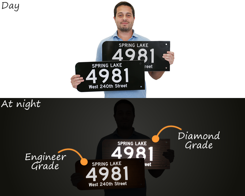 911 Address Signs Free Amp Fast Shipping From Smartsign