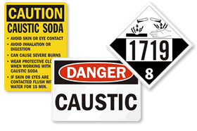 Caustic Signs