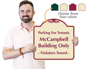 Custom tenants only sign