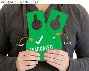 Evacuation tags