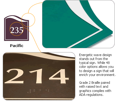 Pacific Door Signs