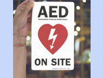 AED Window Decals